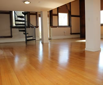 Living Room, Grant School Lofts