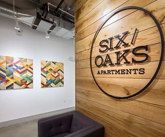 Community Signage, Six Oaks Apartments