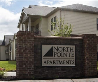 Community Signage, North Pointe Apartments