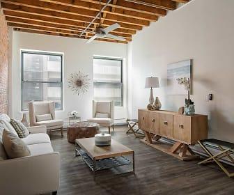Living Room, SilverBrick Lofts