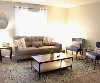 Living Room, Regency Square Apartments