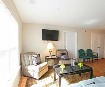 Living Room, Pickering Student Housing