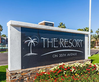 Community Signage, The Resort on 35th Ave