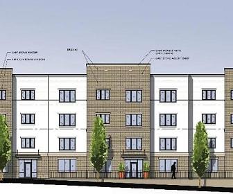 Rendering, 200 Loomis Apartments