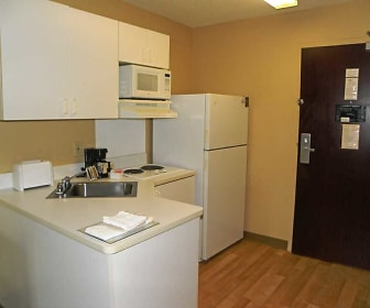 Kitchen, Furnished Studio - Houston - Willowbrook - HWY 249