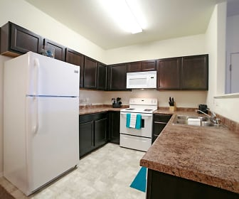 Kitchen, Copperwood Apartments