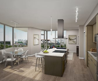 Kitchen, Brio Apartments