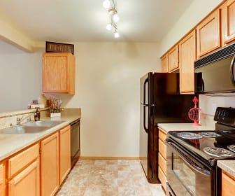 Kitchen, Ashton Apartments