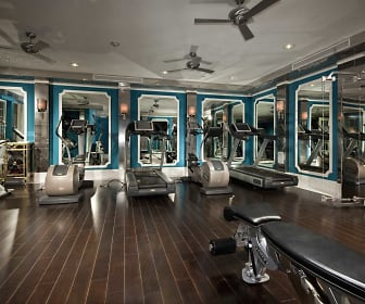 Fitness Weight Room, La Belle at Hollywood Tower