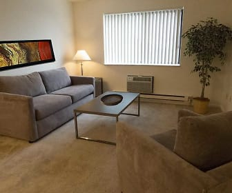 Living Room, Brittany Apartments