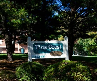 Community Signage, Pine Crest Apartments - NJ