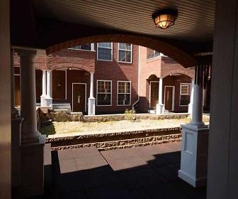 Exterior, Behrends Court