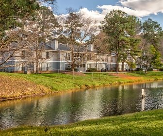 Lake, Pine Winds Apartments of Raleigh