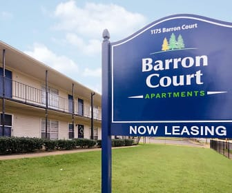 Community Signage, Barron Court Apartments