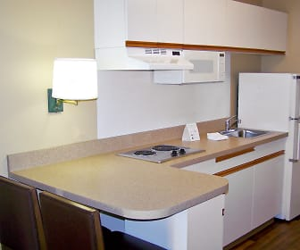 Kitchen, Furnished Studio - Austin - Downtown - Town Lake