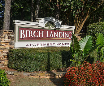 Community Signage, Birch Landing Atlanta Apartments