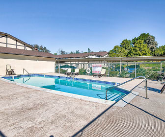 Pool, Pacific View Apartments