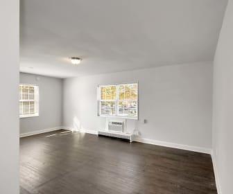 empty room featuring parquet floors and plenty of natural light, Laurel Court