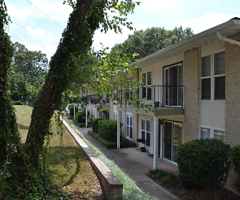 Building, Spanish Trace Apartments