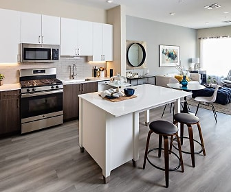 Russell Building Brand New Kitchen-Living, Avalon at Edgewater