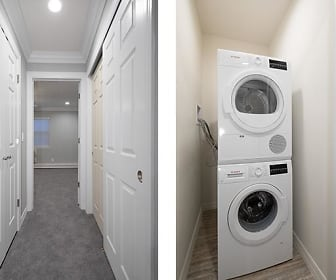 In Unit Stackable Washer And Dryer, Fairfield Courtyard At Bayport