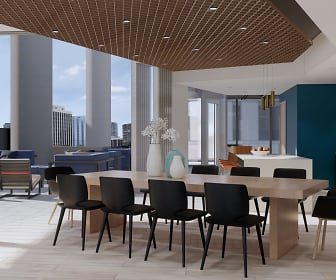 Dining Room, Brio Apartments