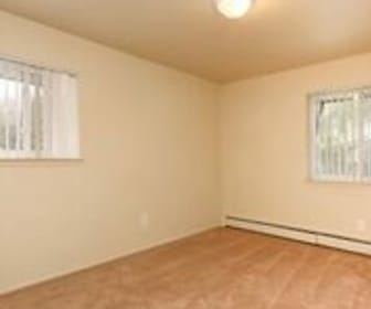 Waverly House Apartments, Alcott Elementary School, Pontiac, MI