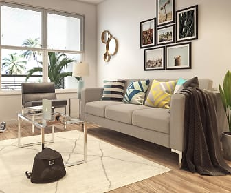 Living Room, Onshore Student Apartments