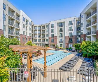 Pool, Pine Street Flats