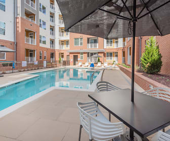 Pool, The Metropolitan Apartments