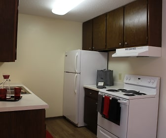 Kitchen, Hidden Valley Apartments