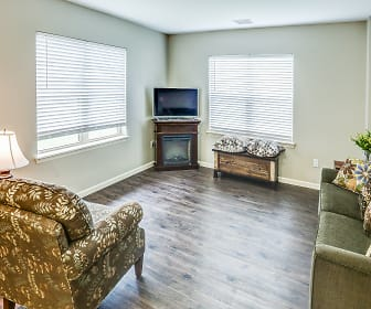 Living Room, Chateau at Heritage Square 55+ Community