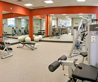 Fitness Weight Room, Cedar Broad