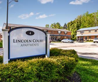 Lincoln Court, Clementon Elementary School, Clementon, NJ