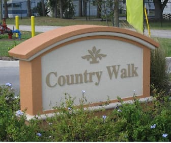 Community Signage, Country Walk Apartments