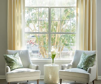 sitting room featuring abundant sunlight, Evergreen at Aubrey's Landing