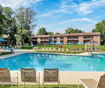 Pool, Springetts Apartments