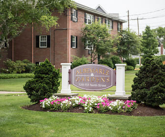 Building, Albemarle Garden Apartments
