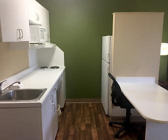 Kitchen, Furnished Studio - Columbus - North