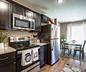 Kitchen, Lakeview Crossing Townhomes
