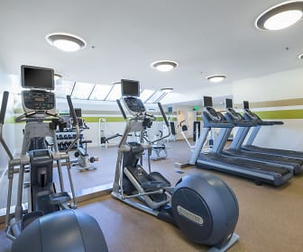 Fitness Weight Room, Crystal Springs Terrace