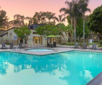 Pool, eaves Huntington Beach