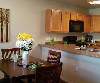 Kitchen, Prairie Meadows Townhomes