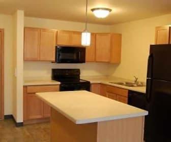 Kitchen, Eagle Harbor Apartments