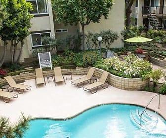 Pool, eaves Cerritos