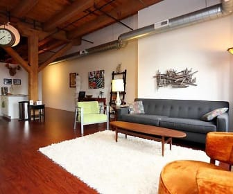 Living Room, Lake Street Lofts