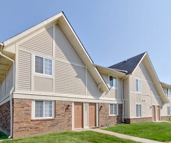 Building, Country Lake Townhomes