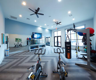 Fitness Weight Room, Trifecta Apartments
