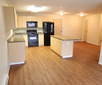 Kitchen, Northern Pacific Apartments