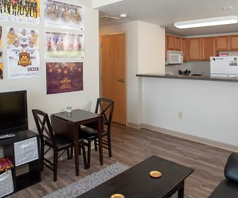Dining Room, Bierman Place Apartments